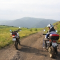 armenia travel enduro mountains