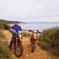 motorbike tour croatia istria viaduro adventure bike