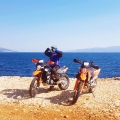 motorcycle tour croatia viaduro beach vacation