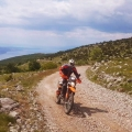 gravel road croatia enduro tour viaduro