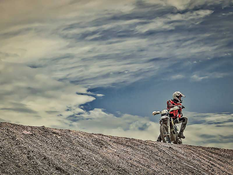 Enduro-Training in Bilstain
